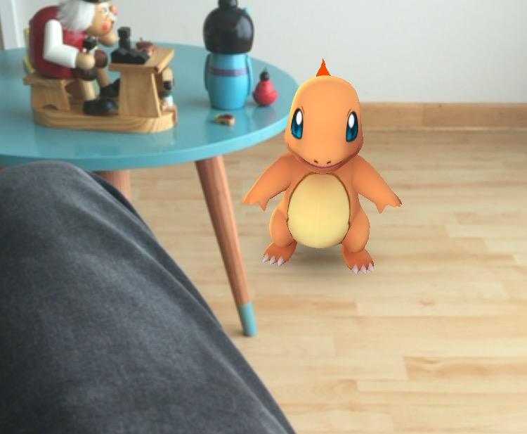 pokemon en el nido